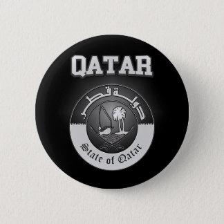 Qatar-Wappen Runder Button 5,7 Cm