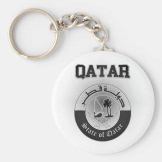 Qatar-Wappen Schlüsselanhänger