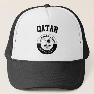 Qatar-Wappen Truckerkappe