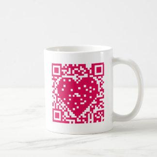 QR Code - Liebe Kaffeetasse