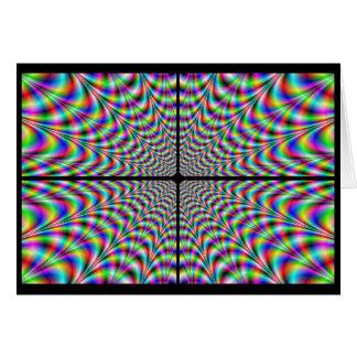 Quadranten Chaos (optische Täuschung) Karte