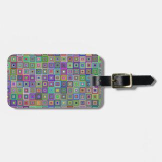 Quadrat-Gepäckanhänger Gepäckanhänger