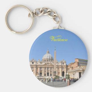 Quadrat Sans Pietro in Vatikan, Rom, Italien Schlüsselanhänger
