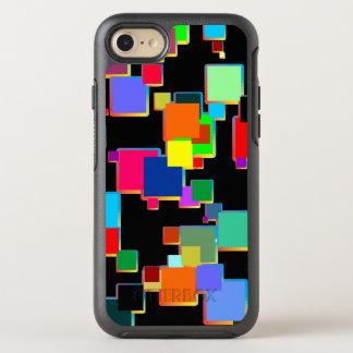 Quadratische Minimalisten mit Konturnsteigung OtterBox Symmetry iPhone 8/7 Hülle