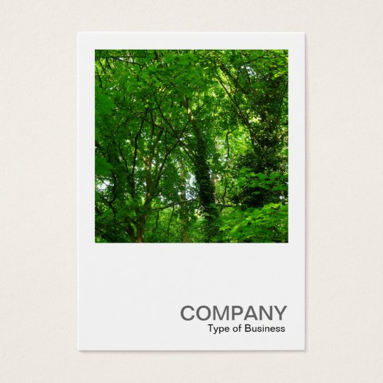 Quadratisches Foto 094 - Bäume im Frühling Visitenkarte