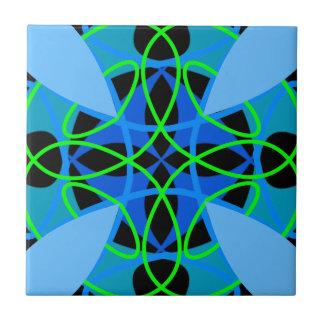 quadratisches Muster Fliese