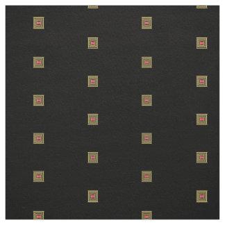 Quadratisches Muster Stoff