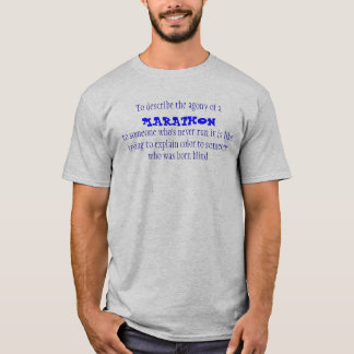 Qual eines Marathons T-Shirt