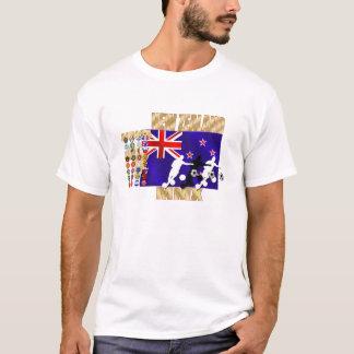 Qualifizierende Länder Neuseeland-Flagge 32 T-Shirt