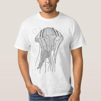 Quallen-erwachsenes Farbton-Shirt T-Shirt