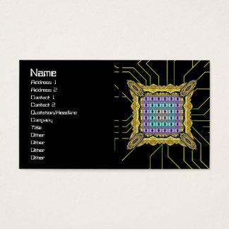 Quallen RGB-Gitter umgewandelt Visitenkarte