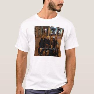 Quark-Wie man entlang erhält T-Shirt