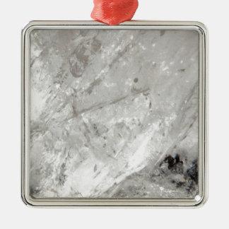 Quarzkristall Zen-Liebeheilende SteinGlitzern Silbernes Ornament
