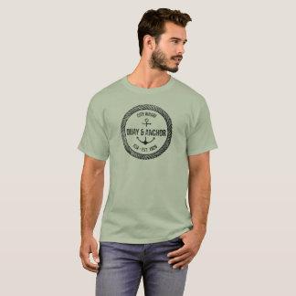 Quay u. Anker See-Segeln T-Shirt