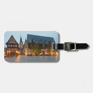 Quedlinburg-NachtFoto Kofferanhänger