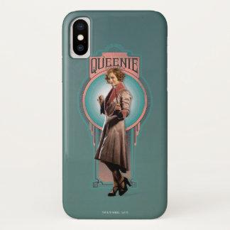 Queenie Goldstein Kunst-Deko-Platte iPhone X Hülle