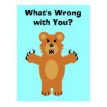 Quel est le problème avec vous ? cartes postales