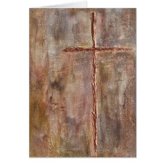 Querkarte, religiöse Karte, Beileidskarte, Taufe Karte