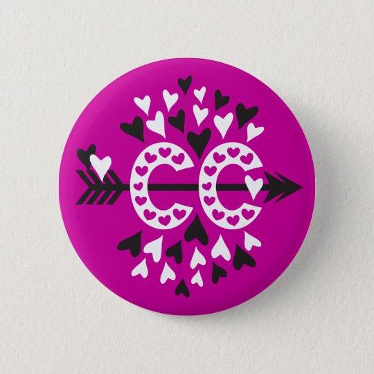 Querland-laufende Liebe Runder Button 5,7 Cm