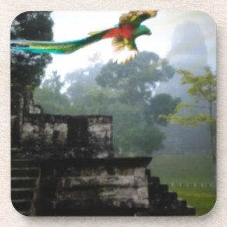 Quetzel in Tikal Getränkeuntersetzer