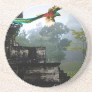 Quetzel in Tikal Untersetzer