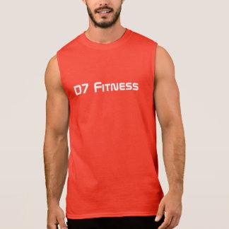 QuicKz - rotes Fitness-Shirt Ärmelloses Shirt