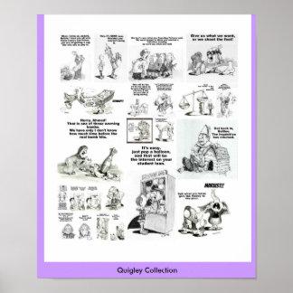 Quigley Sammlung Plakat