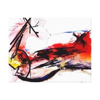 Quijote-La Mancha Leinwanddruck
