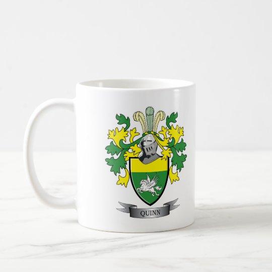 Quinn-Wappen Kaffeetasse