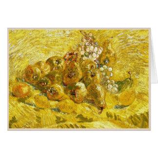 Quitten, Zitronen, Birnen und Trauben Vincent van Karte