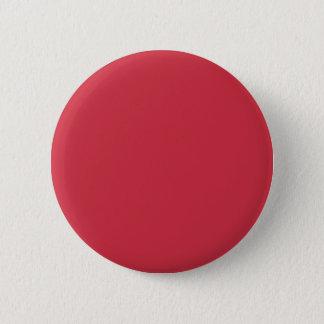 R06 erneuerte Ziegelstein-rote Farbe Runder Button 5,7 Cm