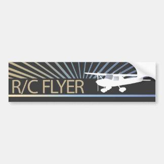 R/C Flyer Autoaufkleber