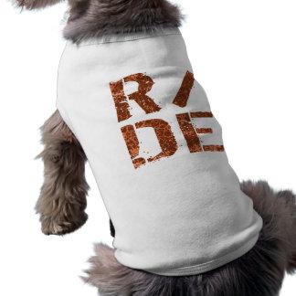 R/DE ÄRMELFREIES Hunde-Shirt