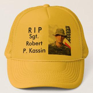 R I P, Sergeant Robert P. Kassin Truckerkappe