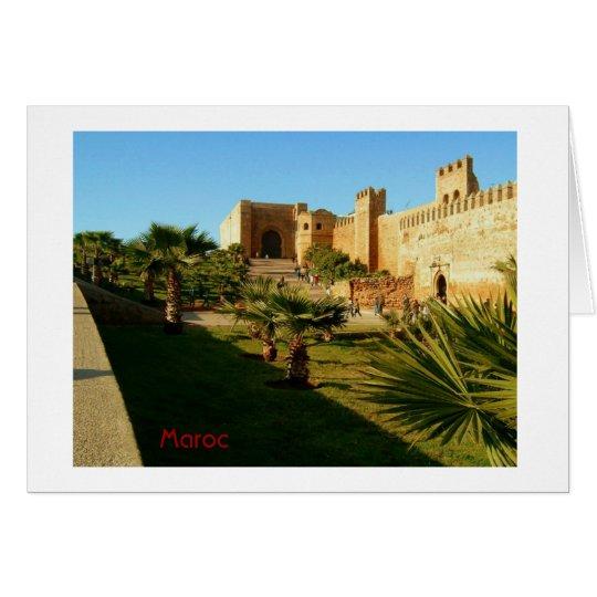 Rabat-Schloss Karte