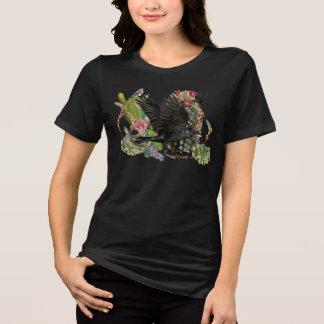 Rabe des Vermögens-Geist-Tier-T - Shirt