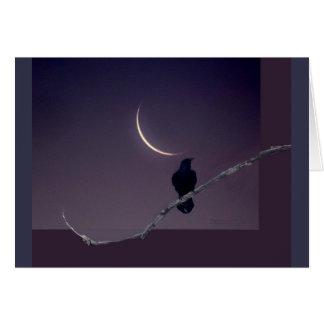Rabe &The Halbmond-Mond Karte