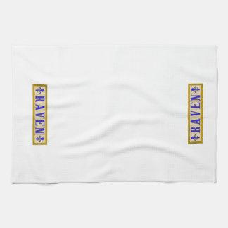 Raben-Lilien-Küchen-Tücher Handtücher