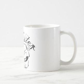 Racecar in den tribals kaffeetassen