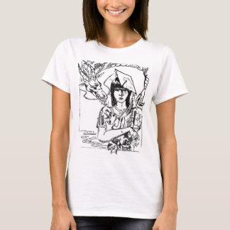 Rachel, glücklich und die Gans T-Shirt