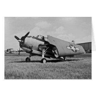 Rächer-Torpedo-Bomber 1945 Grußkarte