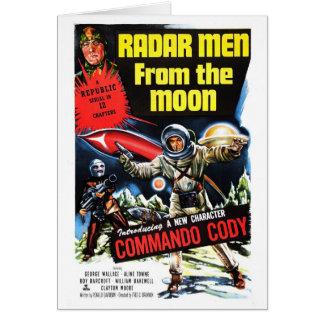 """Radar-Männer vom Mond"" Karte"
