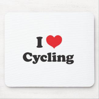 Radfahren der Liebe I Mauspad