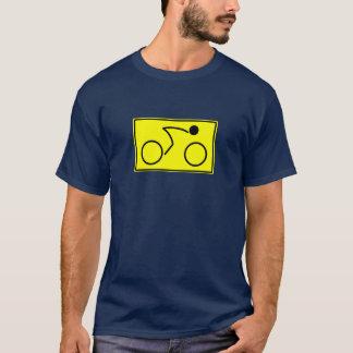 Radfahrer (Gelb) T-Shirt