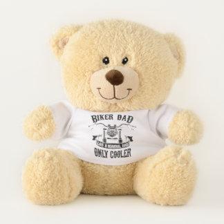 Radfahrer-Vati mögen einen normalen Vati nur Teddybär