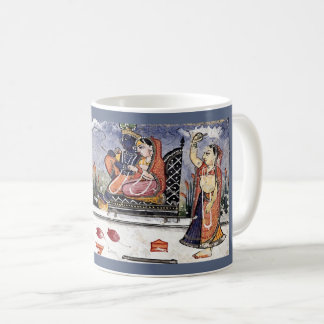 Radha, Krsna - Krishna - indische Weltmusik Kaffeetasse