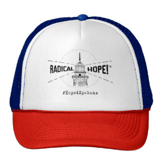 Radikaler Hoffnungs-Fernlastfahrer-Hut Baseballcap