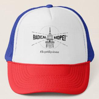 Radikaler Hoffnungs-Fernlastfahrer-Hut Truckerkappe