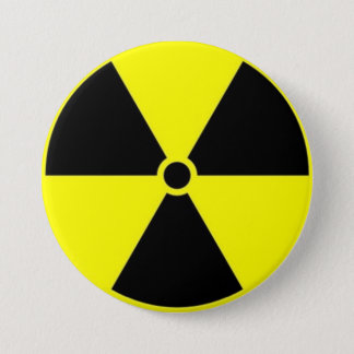 Radioaktiv Anstecknadelbuttons