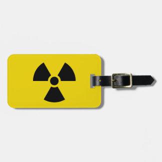 Radioaktiv Gepäckanhänger
